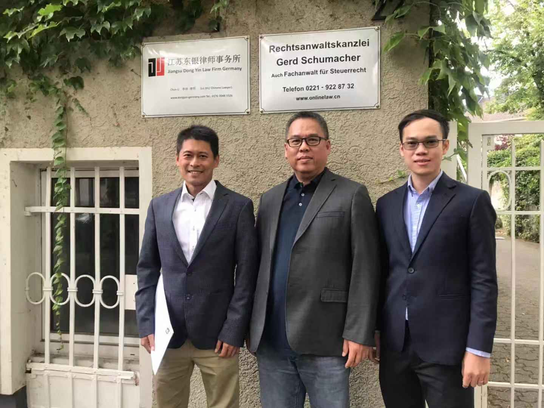李淳律师会见东南亚律师梁柏林和阮富宝智